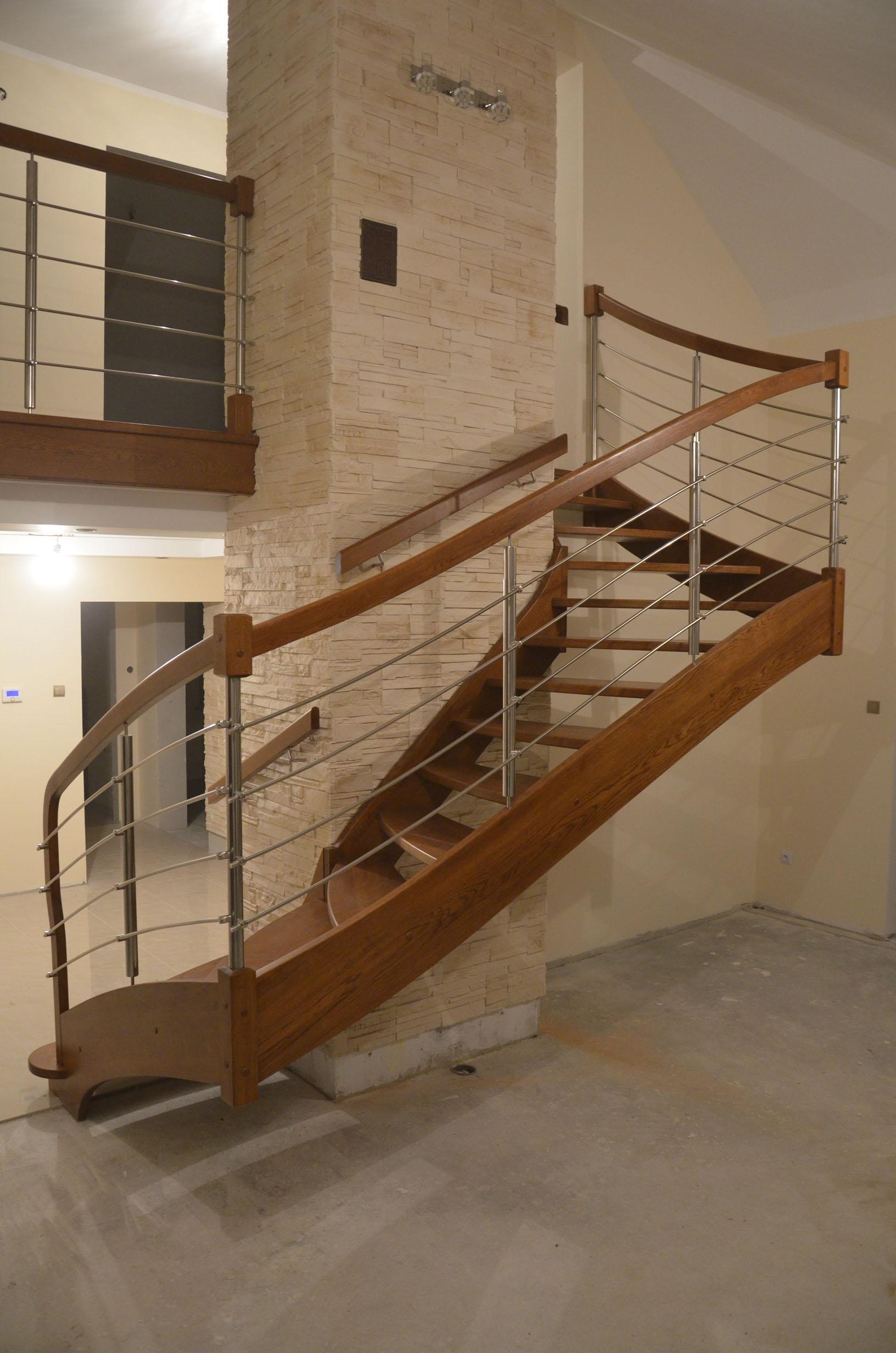 nowoczesne schody drewniane 3